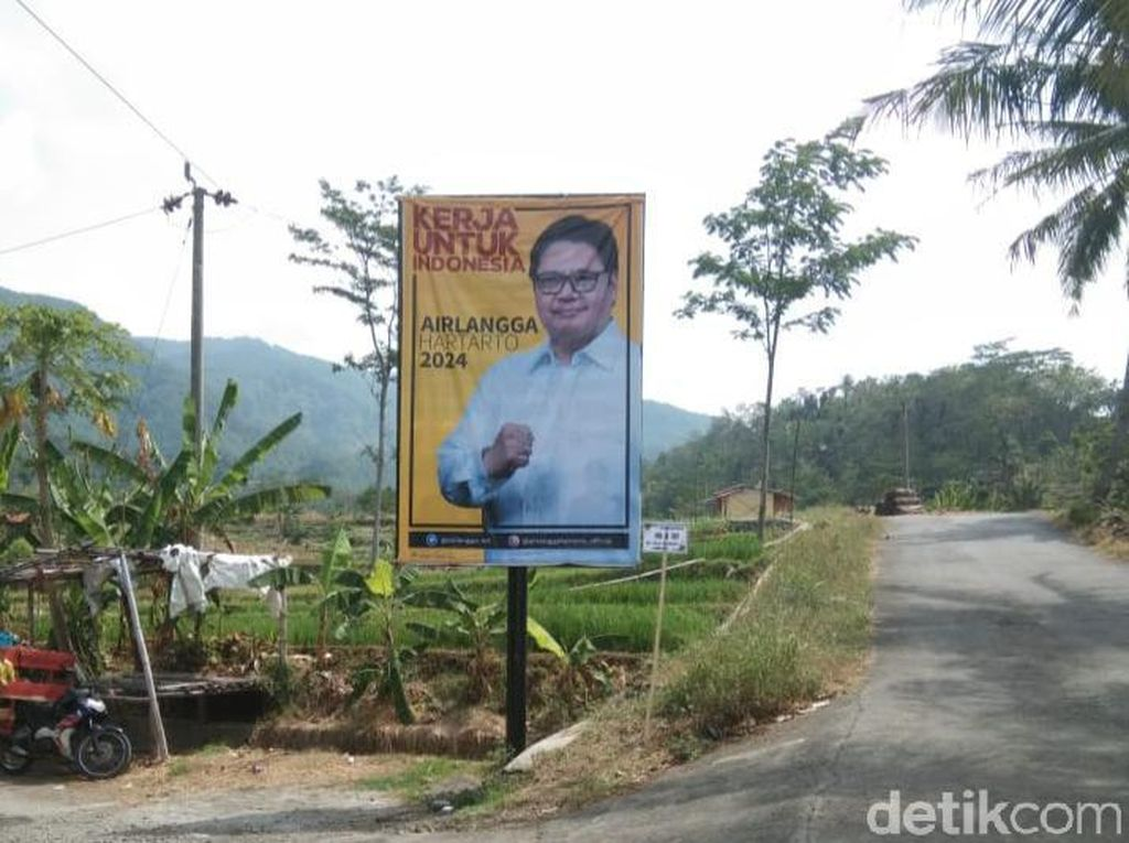 Marak Baliho Airlangga di Brebes, DPD Golkar: Pemanasan Pilpres 2024