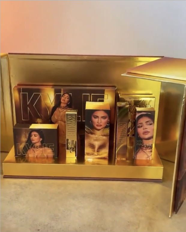 Kylie Cosmetics 24K Birthday Collection/