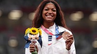 Perkenalkan Gabby Thomas, Calon Epidemiolog AS Peraih Medali Olimpiade