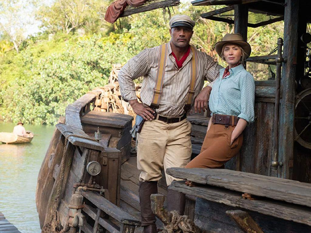 Review Jungle Cruise: Mari Mencari Bunga Fantastis Bersama The Rock dan Emily Blunt