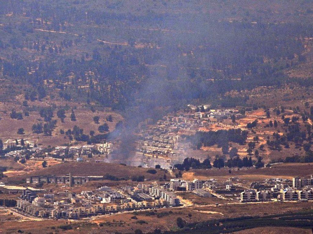 Israel Tembak Jatuh Drone Hizbullah yang Masuk ke Wilayahnya