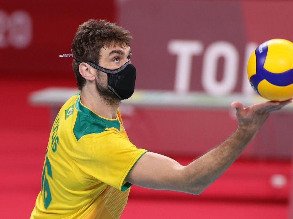 Alasan Menyentuh Atlet Brasil Pakai Masker Saat Berlaga di Olimpiade Tokyo