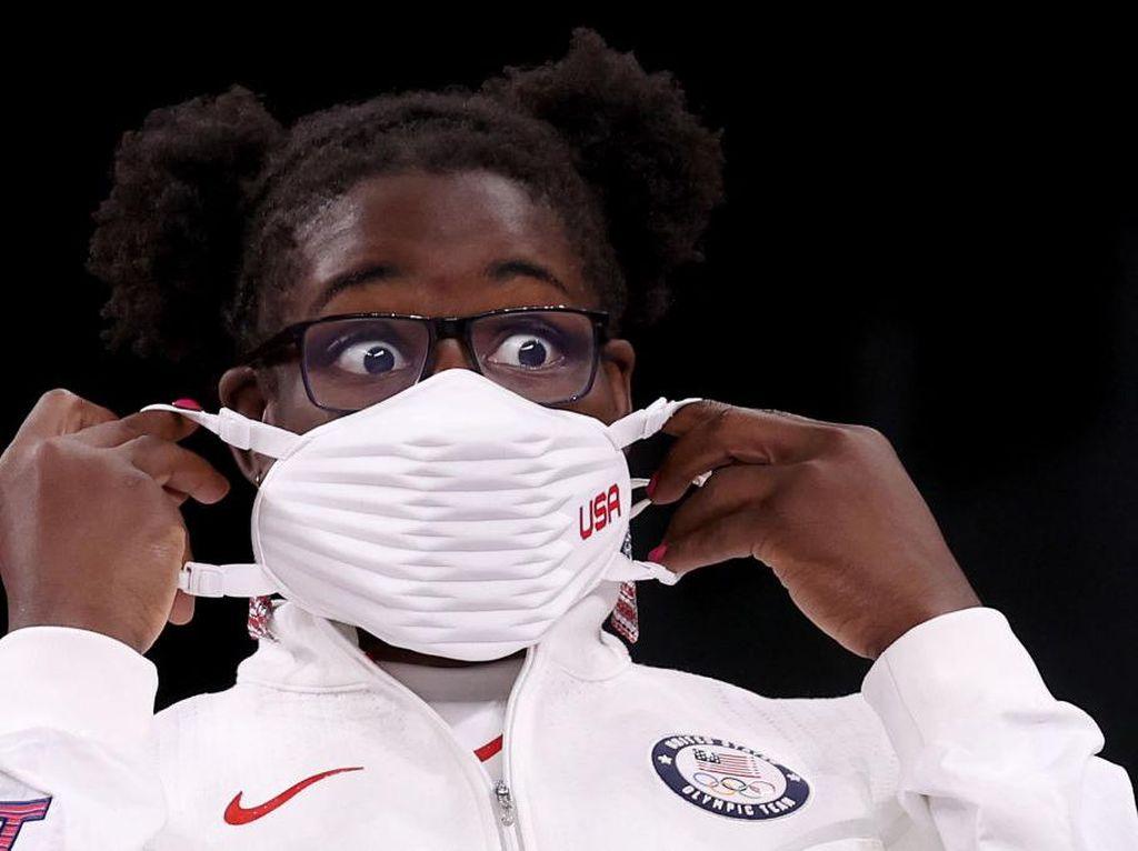 Masker Keren Tim Olimpiade AS Tuai Kontroversi, Ini Sebabnya