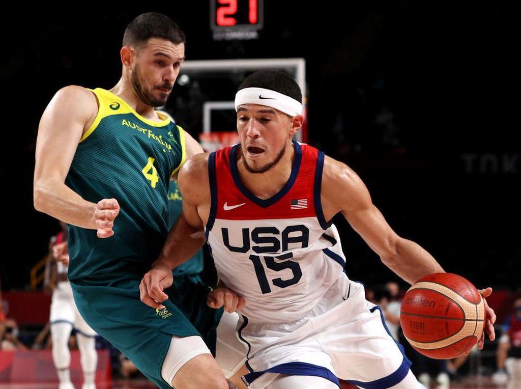 Hasil Basket Olimpiade Tokyo 2020: AS Melaju ke Final Usai Sikat Australia