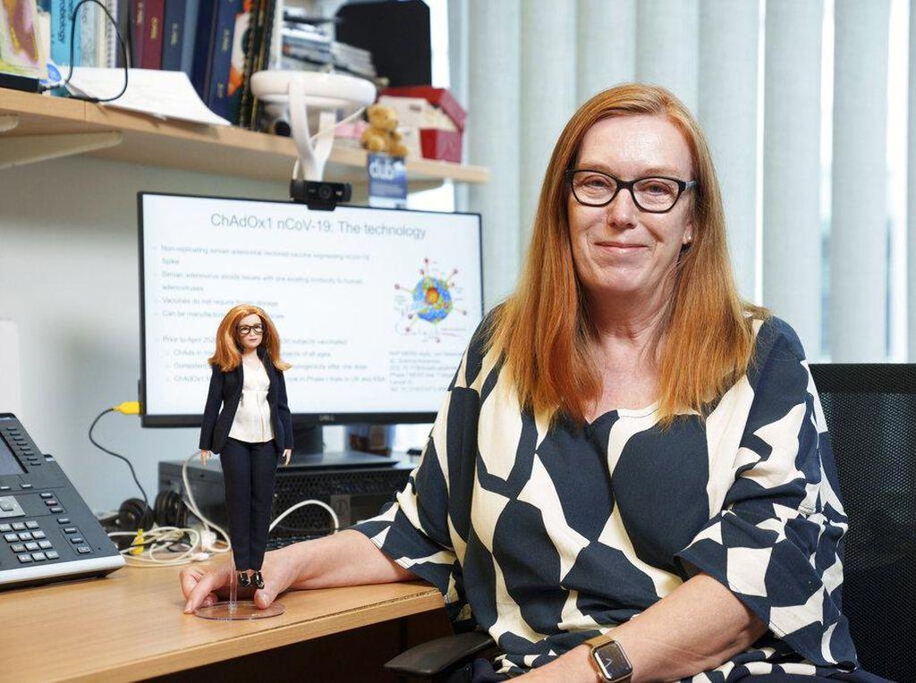 Begini Jadinya Bila Pembuat Vaksin AstraZeneca Berubah Jadi Barbie