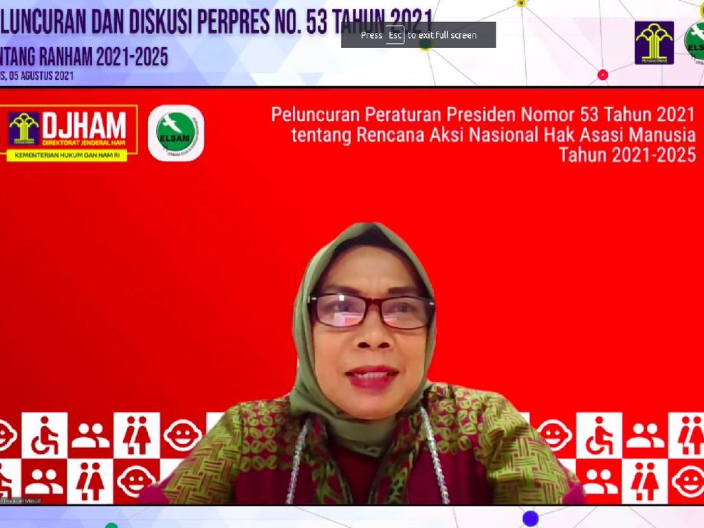 Kemenkumham: Aceh, Sumut hingga Papua Belum Konsisten Lapor Aksi HAM