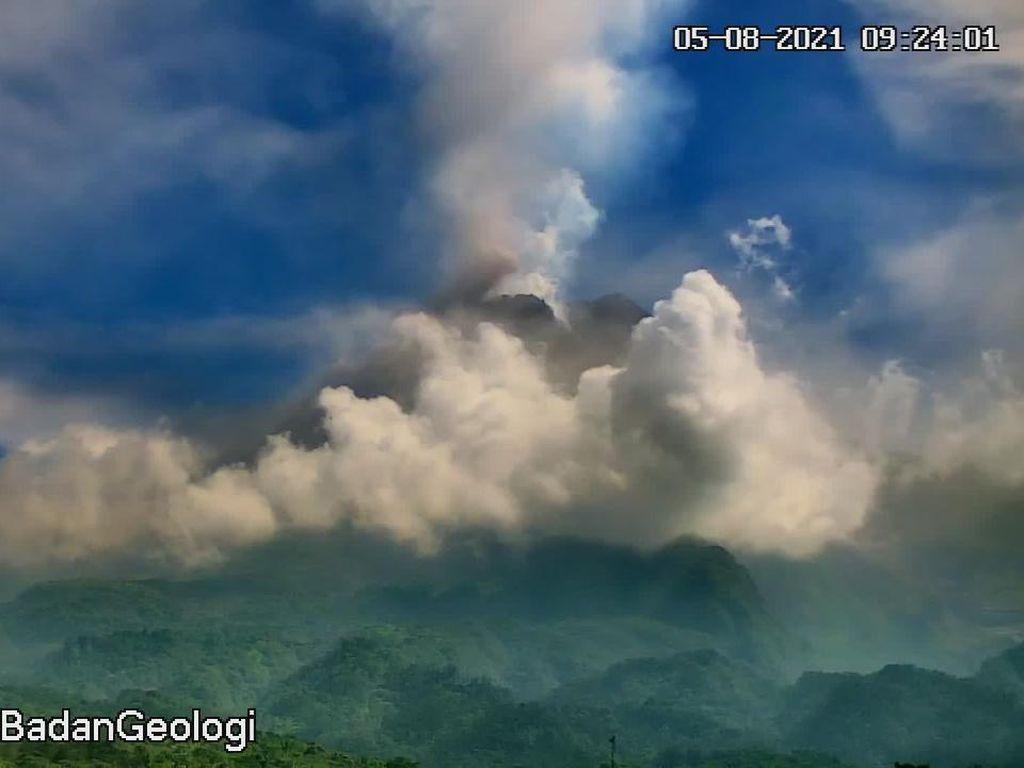 Gunung Merapi Muntahkan 6 Kali Awan Panas Sejak Pagi hingga Siang Ini