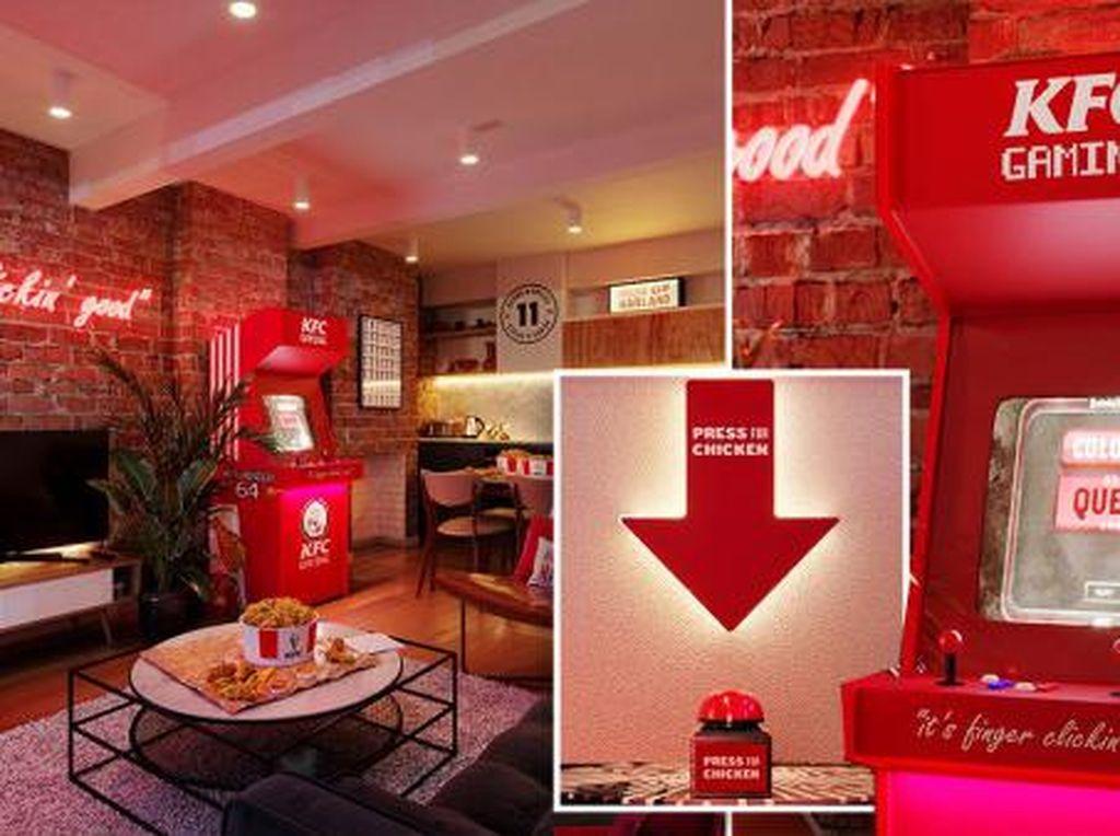 Seru! Hotel Tema KFC Ini Sediakan Tombol Pesan Fried Chicken di Kamar