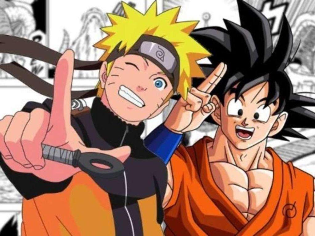 Naruto Bersahabat Erat dengan Dragon Ball