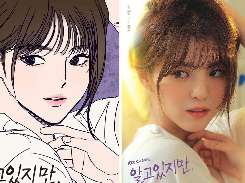 5 Perbedaan Drama Korea Nevertheless dan Versi Aslinya dalam Webtoon