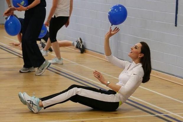 Olahraga fisik ala kate middleton