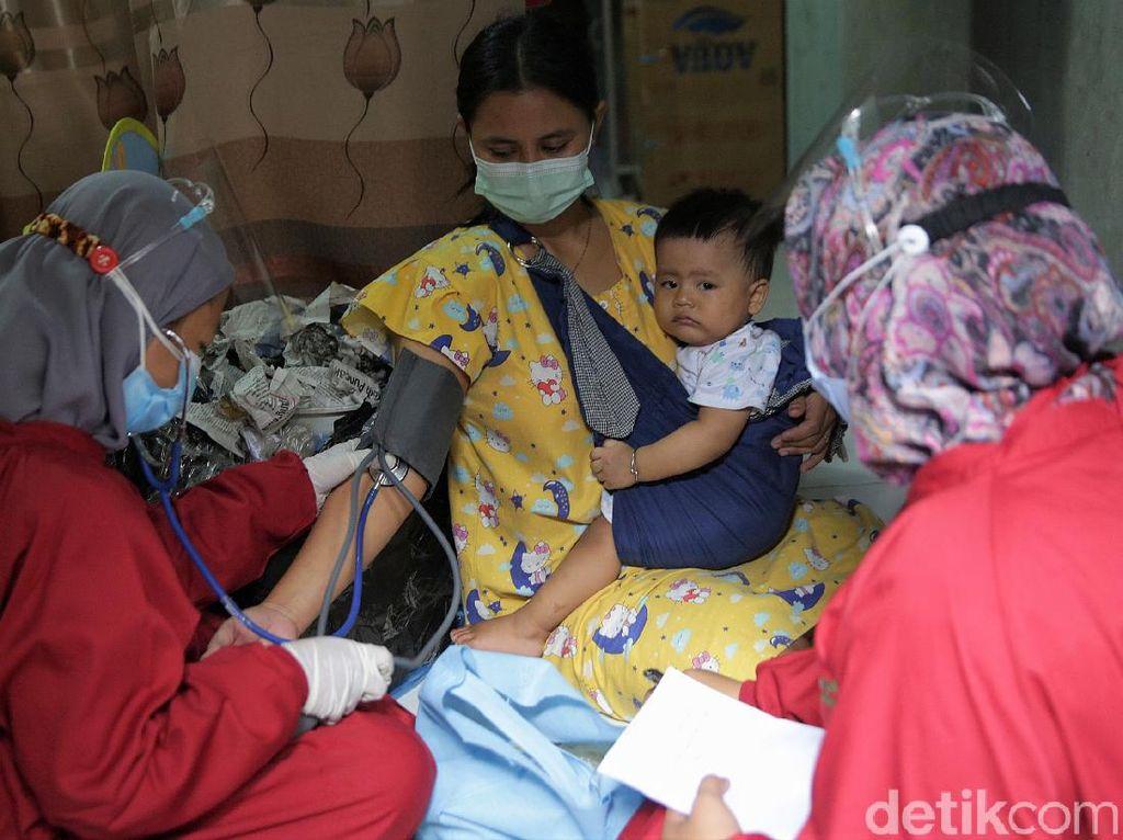 Potret Pemeriksaan Kesehatan Ibu Menyusui Penyintas COVID-19