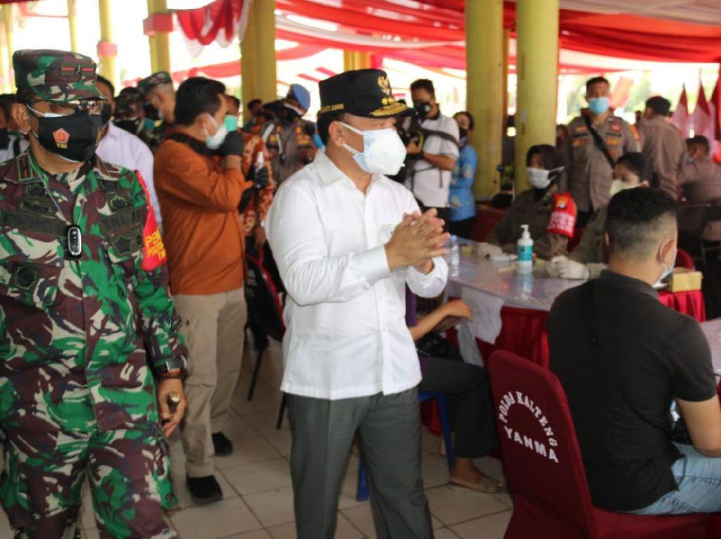 Gubernur Harap 70% Warga Kalteng Sudah Divaksin Paling Lambat Oktober