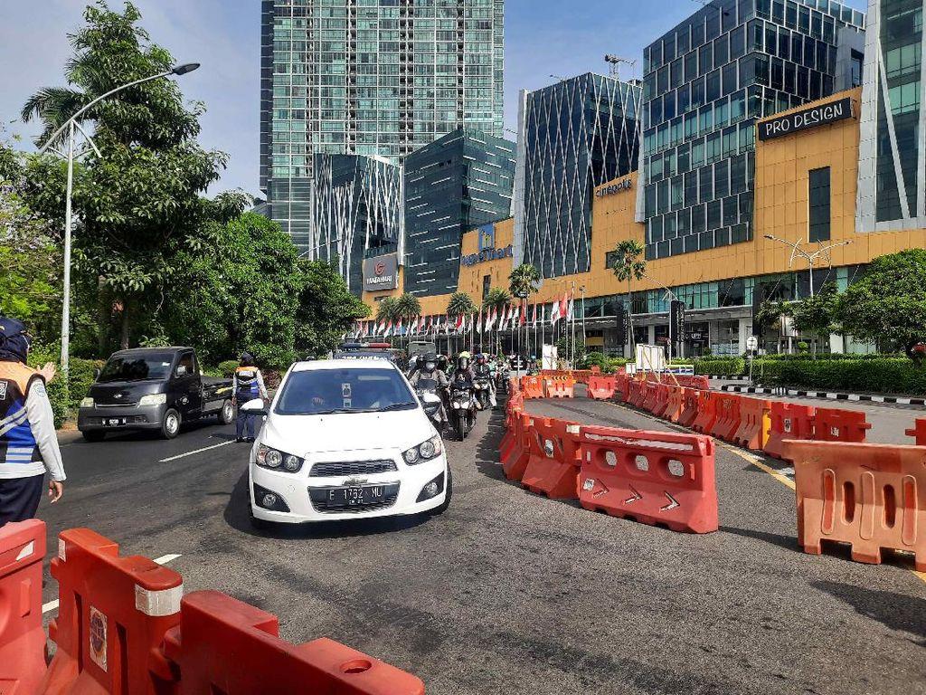 Volume Kendaraan di Surabaya Turun hingga 60 Persen Selama PPKM
