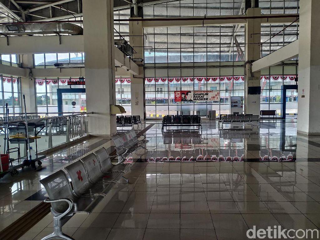 Tak Ada Bus Berangkat dari Terminal Pulogebang Sejak 22 Juli