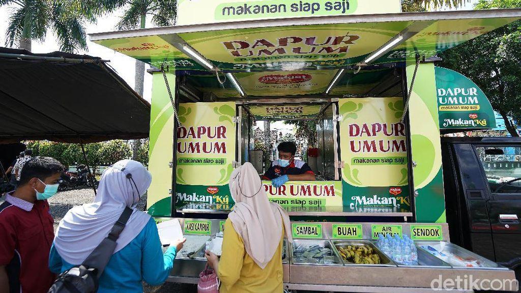 Salut! Katering Asrama Haji Sediakan Dapur Umum untuk Nakes
