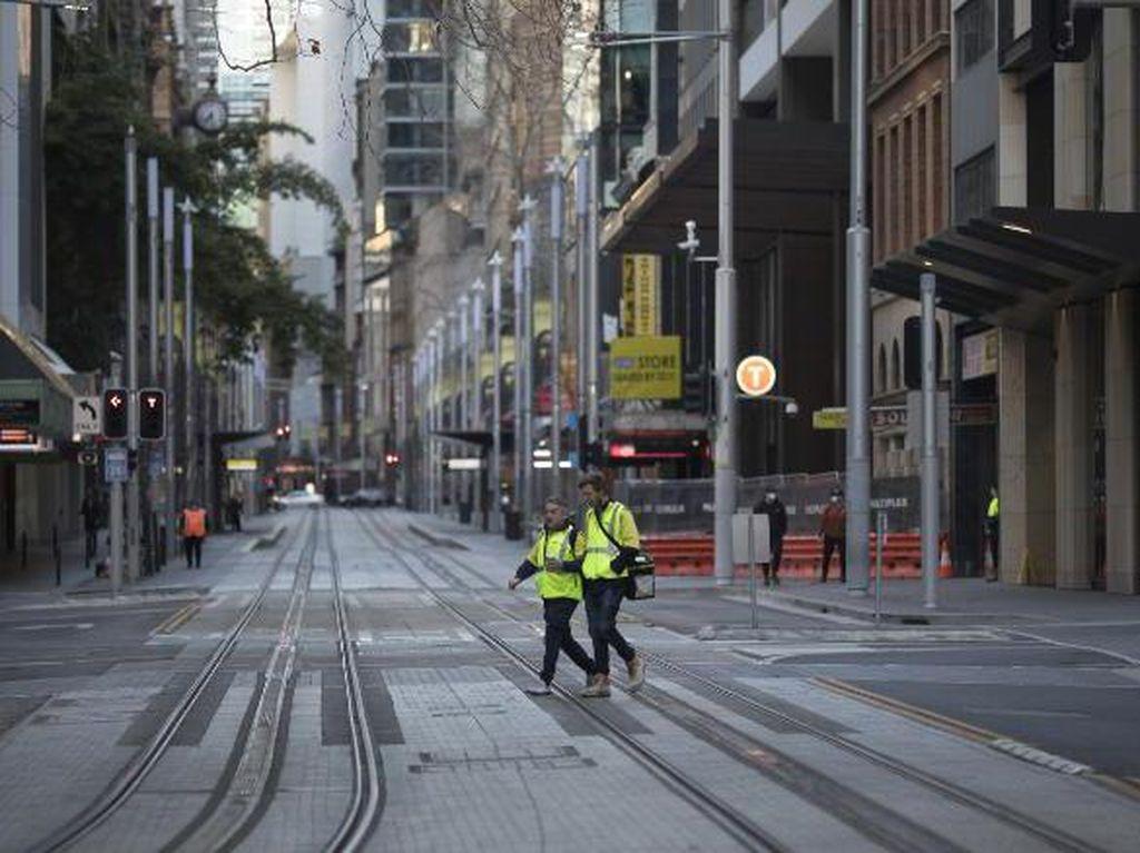 Tak Mempan Lockdown di Sydney Sebab Corona Kian Bergolak