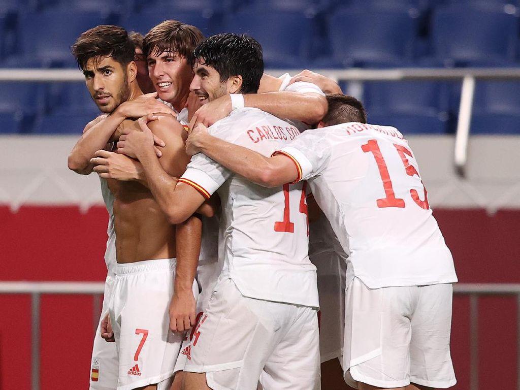 Spanyol Vs Brasil: Duel 2 Skuad Paling Bernilai di Olimpiade 2020