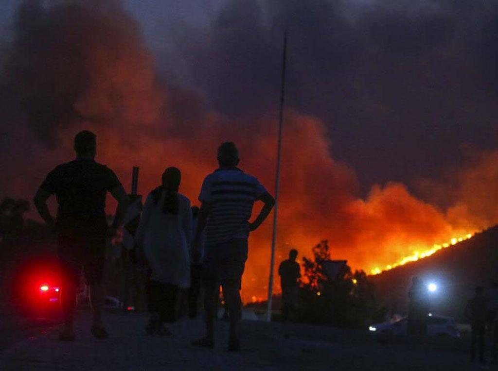 Ilmuwan Jelaskan Kebakaran di Turki-Yunani, Singgung Perubahan Iklim