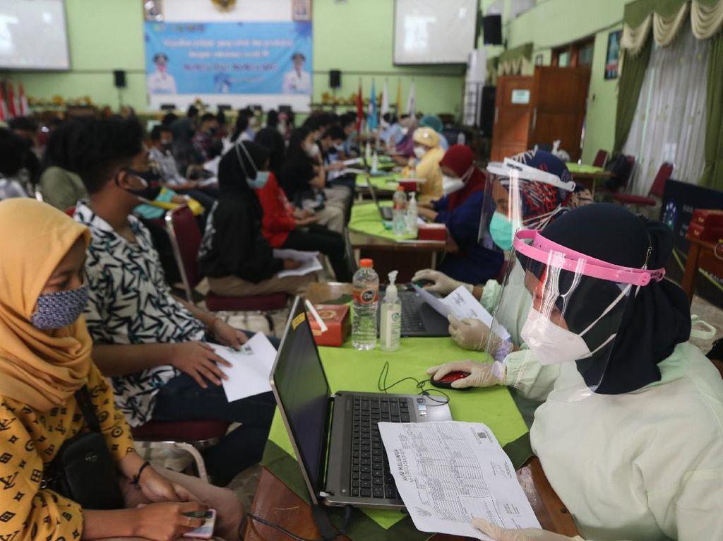 Agenda Vaksinasi Lanjutan Forkopimda Kota Malang Batal
