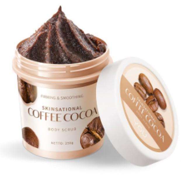 Y.O.U Daily Skin Sensational Body Scrub Coffee Cocoa / foto: shopee.com/youmakeups