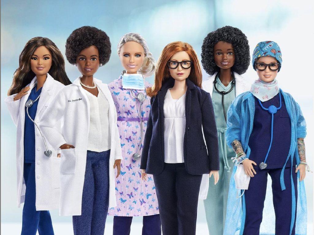 6 Pahlawan Wanita Melawan COVID-19 Diabadikan Jadi Boneka Barbie