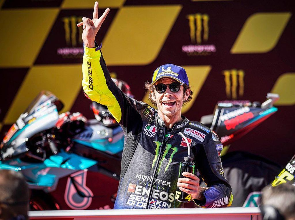 Rossi Bertekad Lanjutkan Tren Positif Usai MotoGP Austria 2021