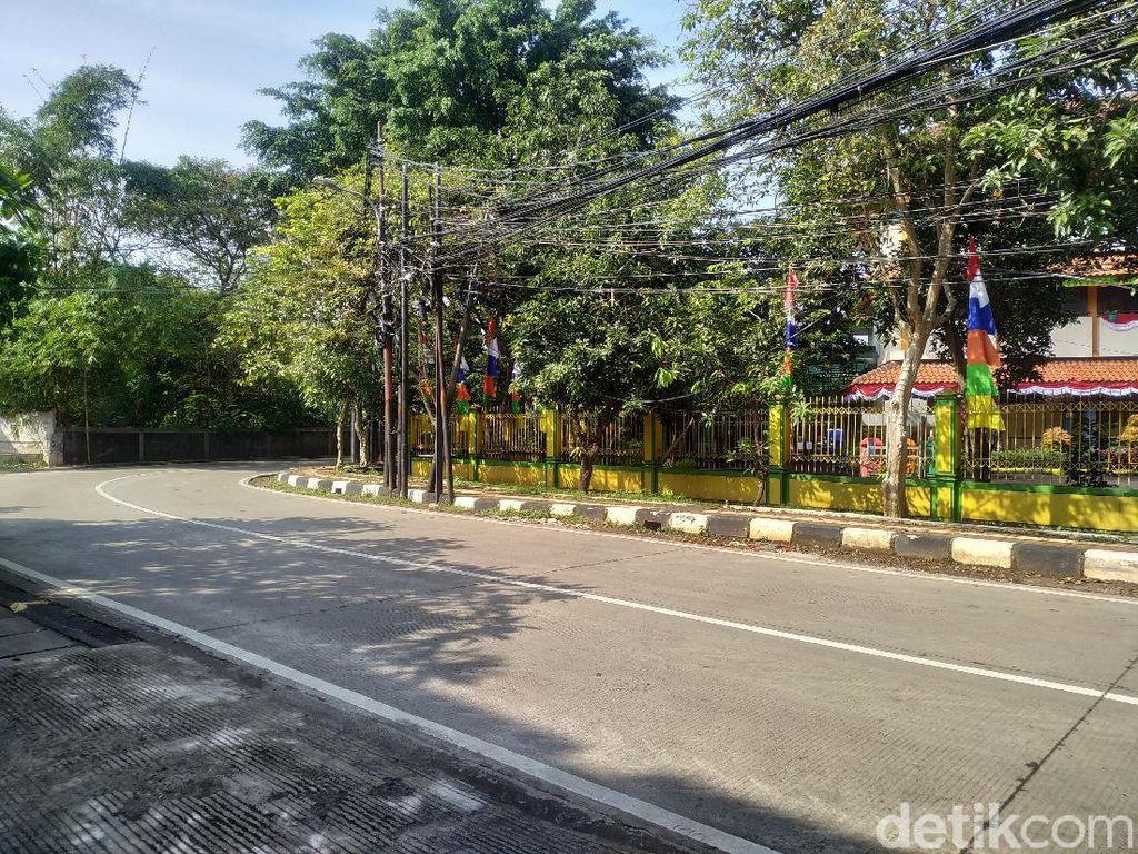 Pagi Ini, Tak Ada Lagi Truk yang Parkir di Badan Jalan Bangka Jaksel