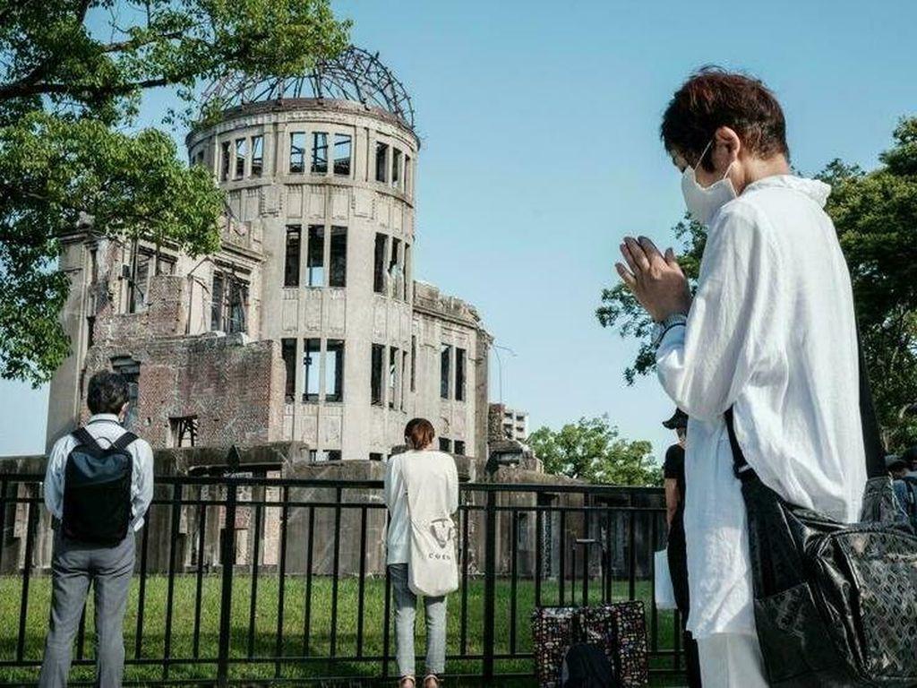 Jepang Peringati 76 Tahun Bom Atom Hiroshima