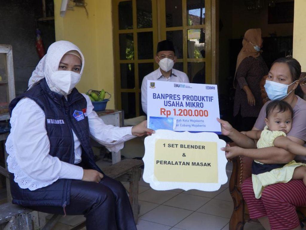 Jumlah Penerima BPUM Rp 1,2 Juta di Kota Mojokerto Capai 9.710 UMKM