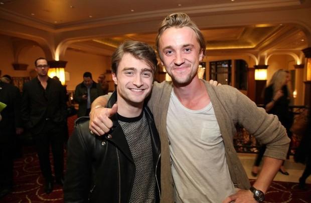 Potret Daniel Radcliffe dan Tom Felton (foto: instagram.com/t22felton)