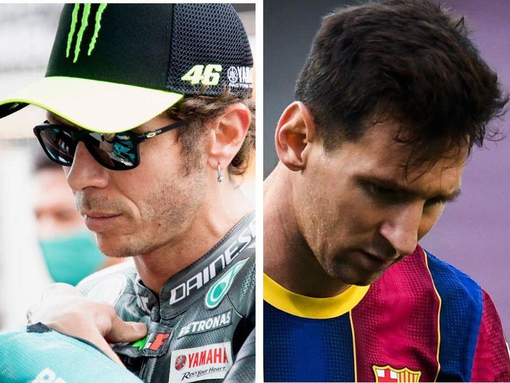 Valentino Rossi Pensiun, Lionel Messi Tinggalkan Barcelona