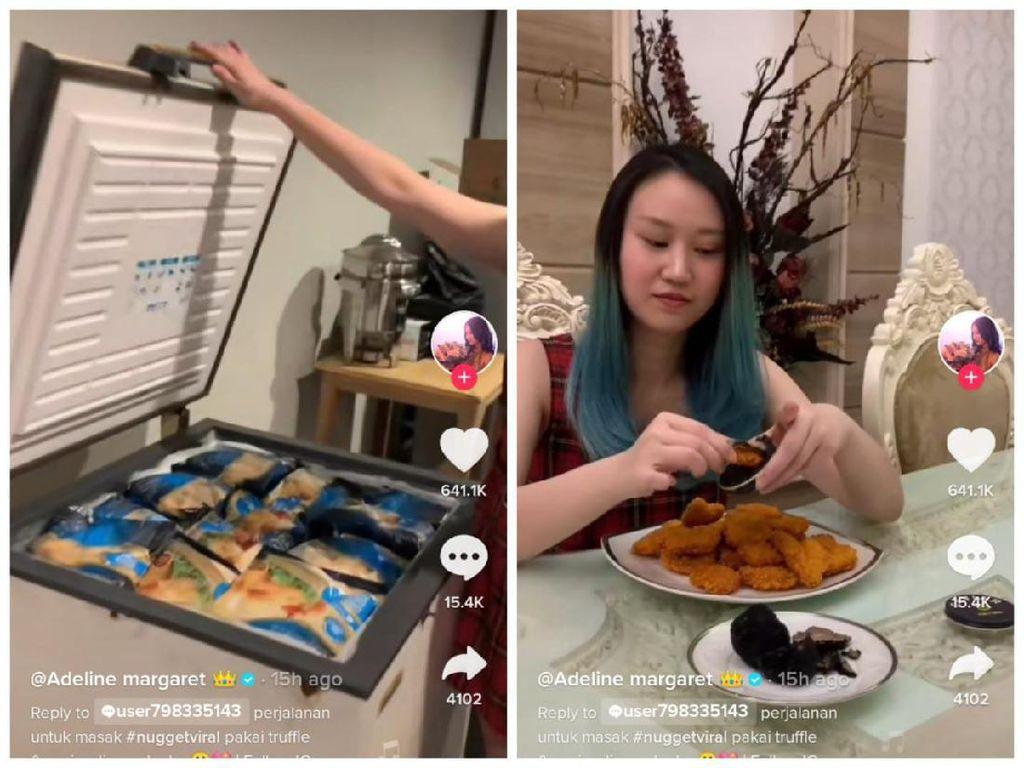 Saingi Sisca Kohl, Netizen Ini Makan Nugget Caviar Senilai Rp 30 Juta!