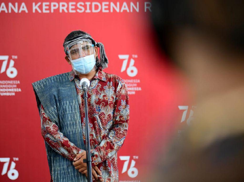 Tim Aksi Jalan Kaki Toba-Jakarta Bertemu Jokowi, Adukan Perusakan Lingkungan