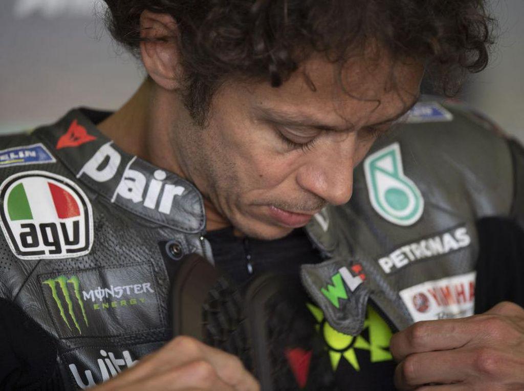 Curhat Rossi Usai Dapat 1 Poin di MotoGP AS: Mau Balapan Sudah Lelah karena Free Practice