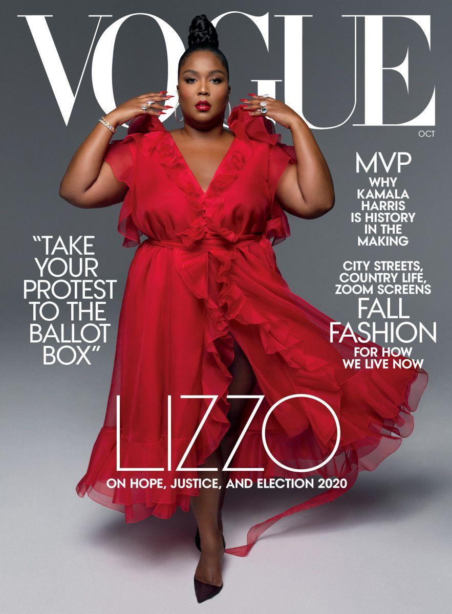 Lizzo di cover Vogue Oktober 2020