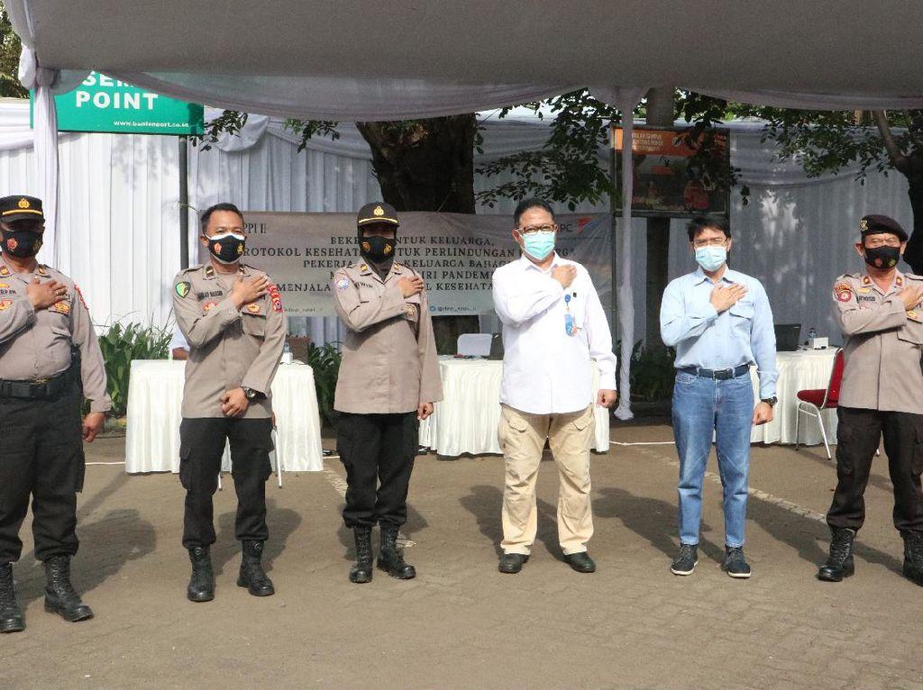 IPC Banten Gelar Vaksinasi Gratis di Pelabuhan Ciwandan