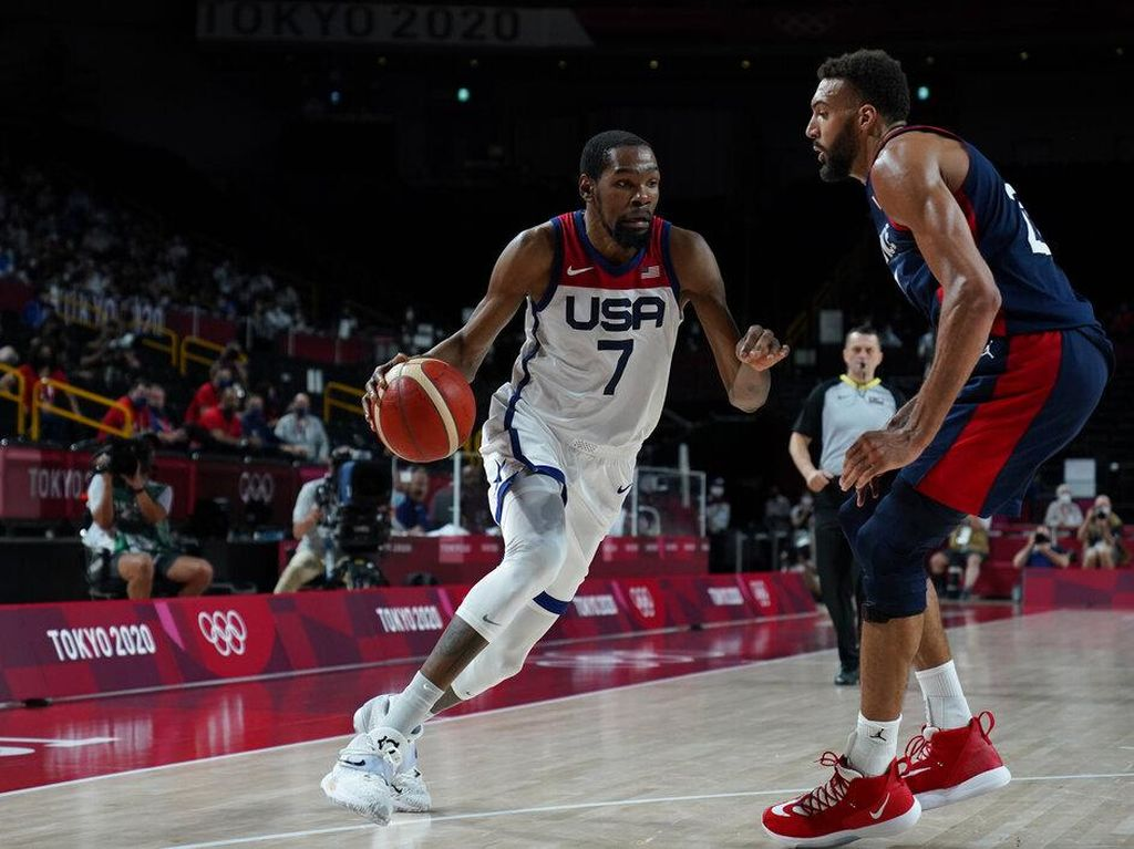Hasil Basket Olimpiade Tokyo 2020: AS Raih Emas Usai Kalahkan Prancis