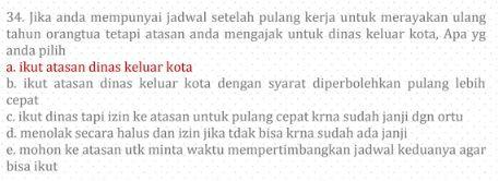 Contoh Soal PPPK 2021 Kemampuan Manajerial, Sosio Kultural dan Jawabannya