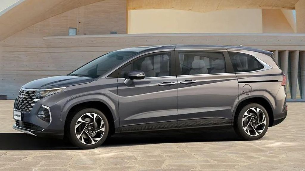 Wujud Hyundai Custo, MPV Pintu Geser yang Cocok Lawan Toyota Innova?