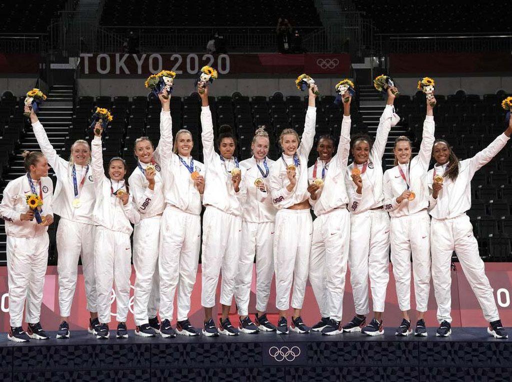 Ini Dia 10 Besar Klasemen Medali Olimpiade 2020