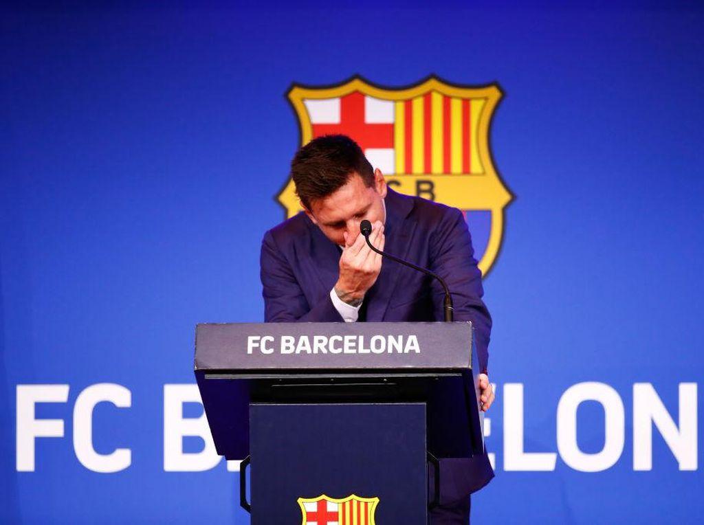 Suasana Muram di Keluarga Messi karena Harus Tinggalkan Barcelona