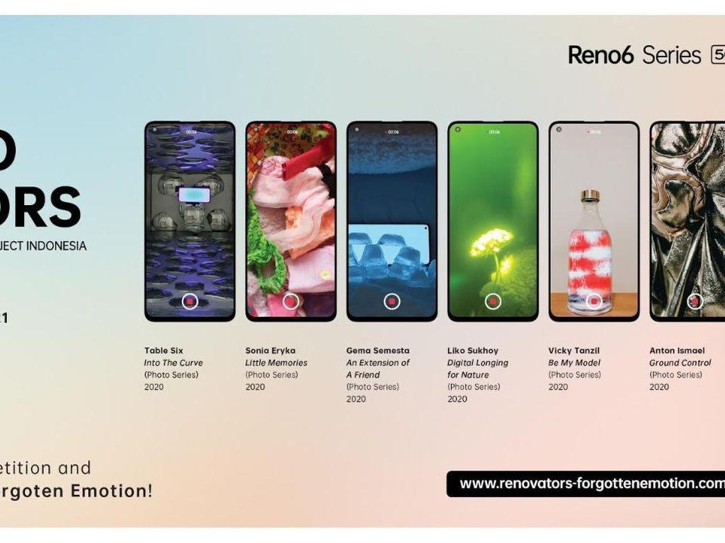 OPPO Gelar Kompetisi Foto Berhadiah Reno6 Series 5G & Kelas Intensif