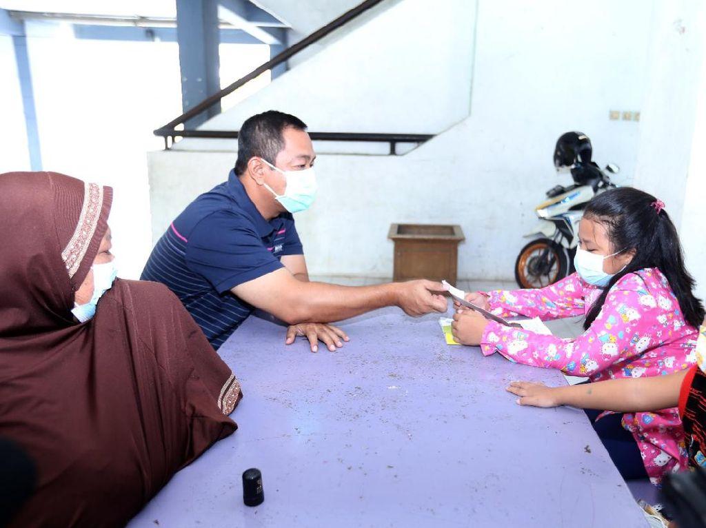 Walkot Semarang Kunjungi Anak yang Kehilangan Orang Tua Gegara Corona
