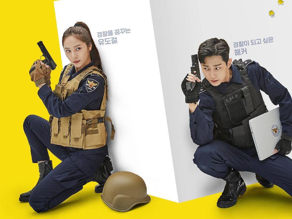 4 Fakta Drakor Police University, Tampilkan Chemistry Krystal dan Jinyoung