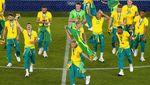 Semarak Tim Sepakbola Brasil Sabet Emas Olimpiade Tokyo