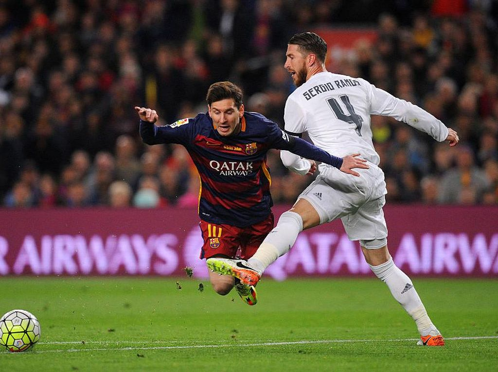 El Clasico yang Sepi Tanpa Ramos dan Messi