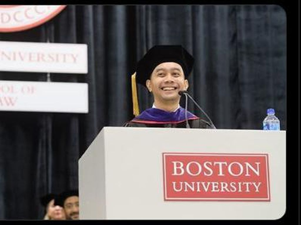 Sosok Abdul Gafur, Lulusan Boston University di Instagram Sri Mulyani