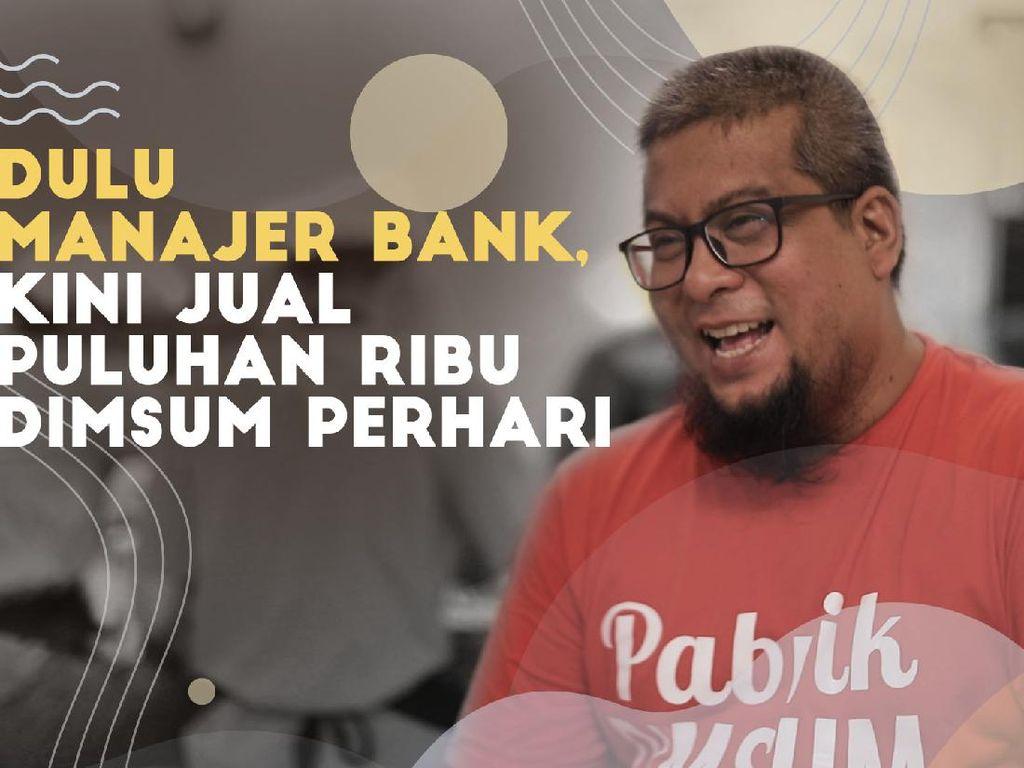 Manajer Bank Banting Setir Bikin Pabrik Dimsum