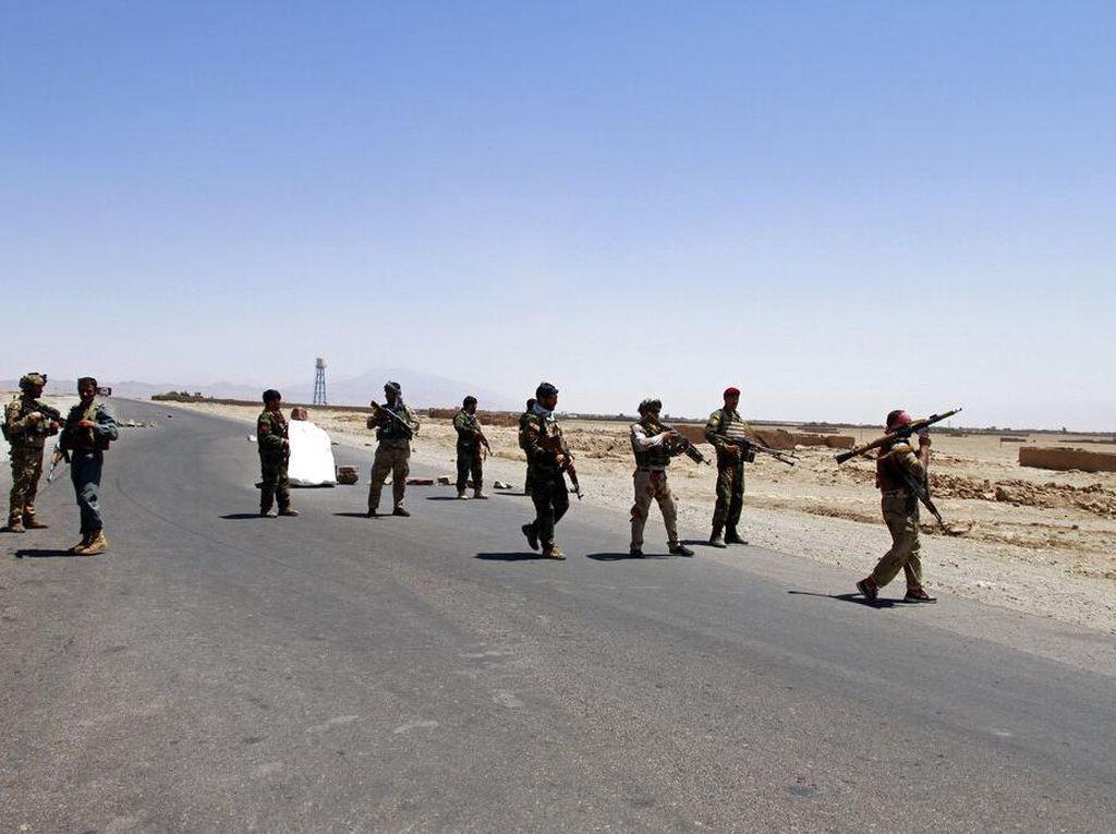 Taliban Kian Agresif, 8 Ibu Kota Provinsi di Afganistan Sudah Direbut